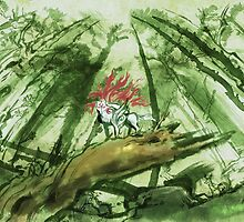Okami Wallpaper by leaficia