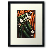 Healthy Vegetables Framed Print
