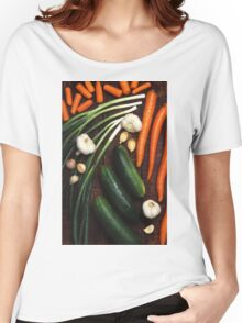 Healthy Vegetables Women's Relaxed Fit T-Shirt