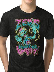 Undead Zed Tri-blend T-Shirt