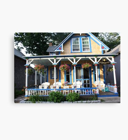 Gingerbread house. Canvas Print