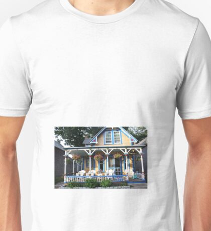 Gingerbread house. Unisex T-Shirt