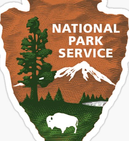 National Park Services Sticker