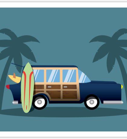 Beach Cruiser Sticker