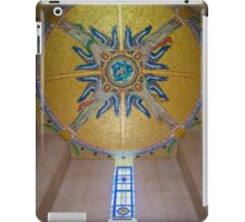 Luxembourg American Cemetery Memorial Ceiling Detail iPad Case/Skin