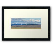 Capital Wind Farm Australia Panorama Framed Print
