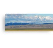 Capital Wind Farm Australia Panorama Canvas Print