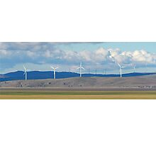 Capital Wind Farm Australia Panorama Photographic Print