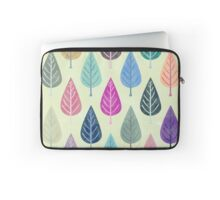 Watercolor Forest Pattern V Laptop Sleeve