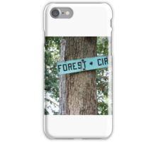 Forest Circle. iPhone Case/Skin