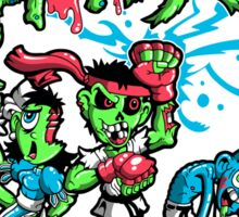 Zombie Fighter Sticker