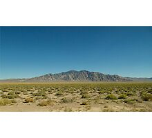 Middle of Nowhere, Nevada Photographic Print