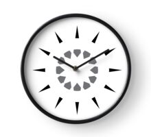 simple wall clock design: shooting arrows Clock