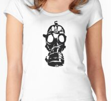GAS MASK ver 0001 Women's Fitted Scoop T-Shirt