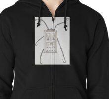 Hellraiser T.A.R.D.I.S. Zipped Hoodie