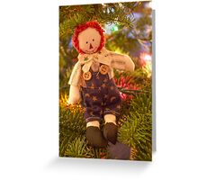 Merry Little Andy Greeting Card