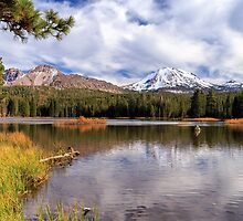Manzanita Lake - Mount Lassen by James Eddy