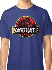 Bowser's Jurassic Castle Classic T-Shirt