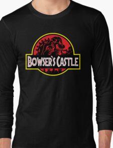 Bowser's Jurassic Castle Long Sleeve T-Shirt
