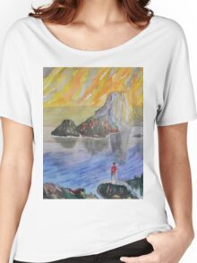 Es Vedra` Women's Relaxed Fit T-Shirt