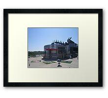 Plaza Triad Framed Print