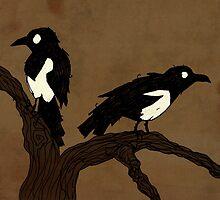 One For Sorrow, Two For Joy... by djrbennett
