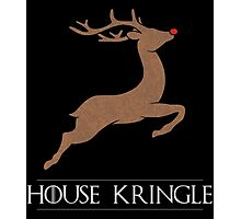 House Kringle Santa Red Nosed Reindeer Sigil Photographic Print
