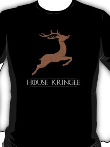 House Kringle Santa Red Nosed Reindeer Sigil T-Shirt