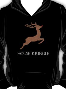House Kringle Santa Red Nosed Reindeer Sigil T-Shirt