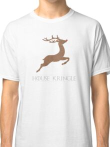 House Kringle Santa Red Nosed Reindeer Sigil Classic T-Shirt