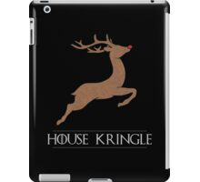 House Kringle Santa Red Nosed Reindeer Sigil iPad Case/Skin