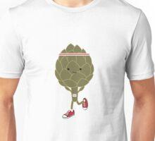 Retro Running Artichoke Unisex T-Shirt
