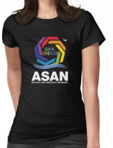 ASAN San Diego logo Womens Fitted T-Shirt