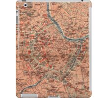 Vintage Map of Vienna Austria (1920) iPad Case/Skin