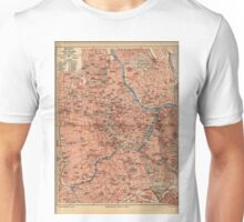 Vintage Map of Vienna Austria (1920) Unisex T-Shirt