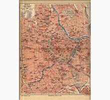 Vintage Map of Vienna Austria (1920) Unisex T-Shirt