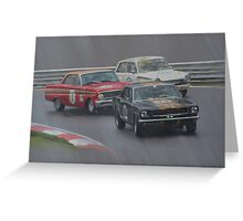 Ford Trio Greeting Card