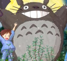 Totoro Midnight Dance Sticker