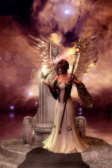 Angel Of Creation by Andrea Ida Rausch