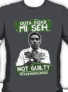 Out A Road #FREEWORLBOSS GREEN T-Shirt