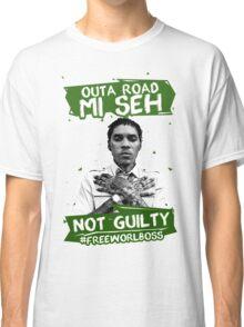 Out A Road #FREEWORLBOSS GREEN Classic T-Shirt