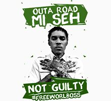 Out A Road #FREEWORLBOSS GREEN Unisex T-Shirt