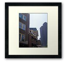 Union Street Framed Print