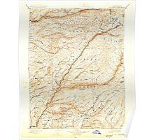 USGS TOPO Map California CA Big Trees 299221 1901 125000 geo Poster