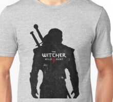 Geralt with Witcher Logo Unisex T-Shirt