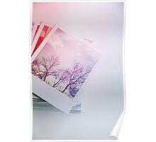 Stack o' Polaroids Poster