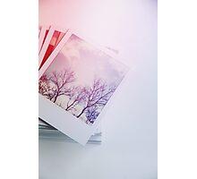 Stack o' Polaroids Photographic Print