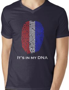 It's in my DNA! PRIDE! Mens V-Neck T-Shirt