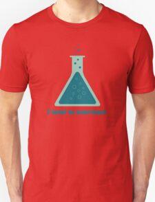 I Tend To Overreact Chemistry Science Beaker T-Shirt