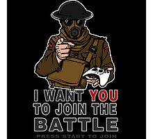 Join the Battle Photographic Print